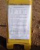 003 Ominous Course Setter Notes (saschmitz_earthlink_net) Tags: 2018 california orienteering vasquezrocks aguadulce losangelescounty laoc losangelesorienteeringclub