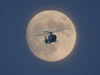 The last full moon of 2017 and the WMP helicopter (ell brown) Tags: newyearseve hallgreen acocksgreen birmingham westmidlands england unitedkingdom greatbritain helicopter wmp westmidlandspolice moon fullmoon photoshop photoshopelements