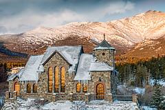 The Chapel on the Rock (Explored) (bdecker432) Tags: winter rmnp colorado snow chapel mountmeeker church rockymountainnationalpark abigfave