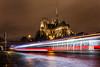 Lumières de Paris (Daniel_Hache) Tags: notredamedeparis paris seine bateaumouche night nuit pont quai