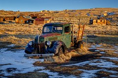 1940 Green Ford With Snow (Jeffrey Sullivan) Tags: bodie state historic park abandoned wild west mining ghost town france televisions eastern sierra bridgeport california usa nature landscape canon eos 6d photo copyright 2017 november jeffsullivan