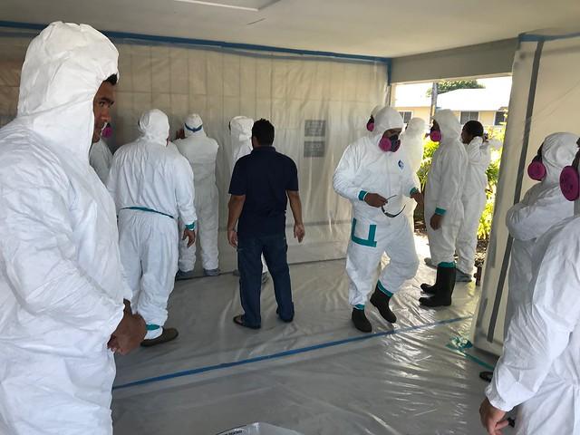 Asbestos Supervisor Class in Hilo.