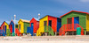 Brightly coloured wooden beach huts (hjuengst) Tags: stjames muizenberg capetown changinghuts beachhouses southafrica colourful colorful