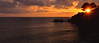 levanto sunset (poludziber1) Tags: skyline summer sea sunset italia italy light liguria landscap levanto orange travel sun beach