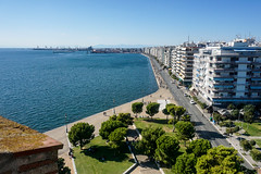 Besichtigung des Weißen Turmes (PWeigand) Tags: chalkidiki thessaloniki θεσσαλονίκη decentralizedadministrationof griechenland decentralizedadministrationofmacedoniaandthrace