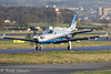 N930ZD Socata TBM-930 Private Glasgow airport EGPF 06.01-18 (rjonsen) Tags: plane airplane aircraft aviation general delivery flight taxying motion blur