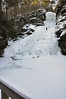 Dingmans Falls Ice Climber (DenSmith) Tags: winter waterfall water frozen ice icesnow dingmans pocono pike