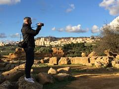 Agrigento, Italy, December 2017