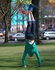Inversion (swong95765) Tags: man exercise handstand park city grass guy balance tattoo