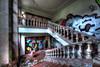 Descente colorée (urban requiem) Tags: escalier stairs treppe staircase graf graffiti tag urbex urban exploration urbanexploration abandonné abandoned abbandonato verlaten verlassen lost old decay derelict hdr 600d 816 sigma germany deutschland allemagne clinique clinic klinik bormann klinikbormann