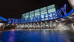 Staten Island Ferry Terminal (dansshots) Tags: statenislandferry southferry dansshots nikon nikond750 rokinon rokinon14mm nyc newyorkcity newyorkatnight iliv