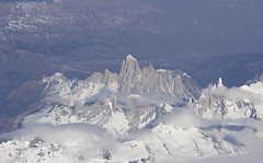 Mount Fitzroy (richard.mcmanus.) Tags: mountains andes fitzroy mountfitzroy argentina air snow ice landscape chile