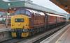 37411 Cardiff 31/12/2004 (Waddo's World of Railways) Tags: 37411 411 374 cardiff ews class37 wales valleys
