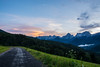 my way... (Harry Pammer) Tags: austria österreich berge oberösterreich upper sunset sonnenuntergang weg way landscape landschaft forest wood vorderstoder sacredmoon
