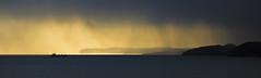 A SAFE HARBOUR By Angela Wilson (angelawilson2222) Tags: sea ocean water cliffs landscape seascape storm weather rain sunset sunrise orange mood boat vessel fishing fishingboat holm stornoway lewis hebrides scotland nikon angela wilson moody nature wildlife