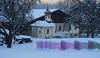 Hof bei Inzing, Tirol (Ernst_P.) Tags: aut bauernhof dorfbild futter hof inzing kapelle österreich silofutter tirol wannerhof winter schnee samyang walimex 135mm f20
