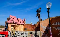 Patio de Dom Fadrique (fruizh) Tags: patiodedomfadrique callejeando lisboa alfama graffiti 2016 portugal fruizh