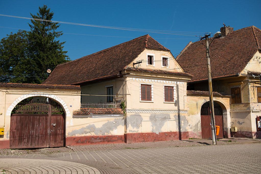 фото: village street, Romania