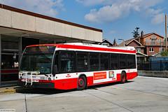 TTC bus route 70C Coxwell (Canadian Pacific) Tags: toronto ontario canada canadian city urban ttc transit public commission bus coxwell station metro subway 2017aimg2369 novabus nova