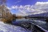 Alter Rhein (Oliver Noggler) Tags: altach vorarlberg österreich ch wasser alterrhein wolken schneewinter