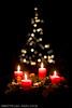 Weihnachten | christmas (akirakun photography) Tags: weihnachten christmas candle candles kerzen kerze adventskranz candlelight bokeh christmastree weihnachtsbaum
