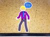 STM Metro Subway Pictograms (Fred:) Tags: pictograms stm montreal pictogrammes pictogramme pictogram metro subway train transit commute commuters transport collectif métro transportencommun métrodemontréal montrealmetro montréal underground decal decals walk walkers walking client speech talk bubble man necktie tie