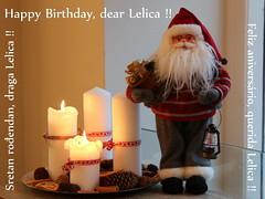 ... Happy Birthday, dear Lelica, Sretan rođendan, draga Lelica, Feliz aniversário, querida Lelica ... (ChristianofDenmark) Tags: christianofdenmark copenhagen denmark ljerka felso lelica happy birthday 26 december