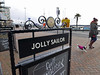 dog walker 2 (auroradawn61) Tags: poole dorset uk england december 2017 lumixlx100 poolequay dogwalker street