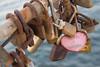 Broken Heart 2/365 (carmenmaniega) Tags: 365project love pink brown salinas asturias candados lock