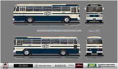 2348 CMTC reflexo (busManíaCo) Tags: desenhodeônibus desenho drawn drawing busmaníaco monobloco cmtc