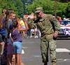 High Five (swong95765) Tags: man military parade kid hands cute aclnowledgement uniform