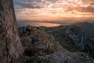 Mallorca - watching sun