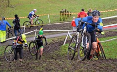 Get up that slope! (Majorshots) Tags: macclesfield cheshire southpark macclesfieldwheelerssupacross2017 cyclocross