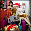 (4) Anja Explains... (MiskatonicNick) Tags: erin paintedblack jasper dynamitegirls anja regalsolstice toyville christmas 2017