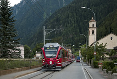 Rhb ABe 8/12 Allegra. Prese 30/07/2011 (stefano.trionfini) Tags: train treni bahn zug rhb abe812 retiche bernina grigioni svizzera suisse
