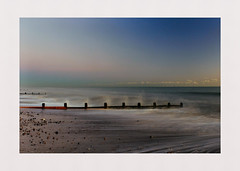 Tidal (hall1705) Tags: tidal sea seascape shore seaside sky westsussex longexposure tide breakwater nikon1j5