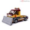 60150 Snow Plow (KEEP_ON_BRICKING) Tags: lego city moc alternate model remake remix mod set 60150 pizza van keeponbricking latlug lv snow plow snowplow truck 6wide minifigure scale