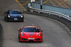 Ferrari, 430 Scuderia, Hong Kong (Daryl Chapman Photography) Tags: scuderia dc70 ferrari f430 430 hongkong china sar canon 1d mkiv 70200l power speed car cars carspotting carphotography auto autos automobile automobiles