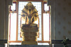 _PSY3561 (Pisit_JAY) Tags: buddha face buddah sculpture statue gold background white thailand culture asian asia religion peace temple meditation buddhism stone art symbol old antique head ancient calm