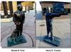 09a Rapid City SD - Presidential Statues 04 (Johns Never Home) Tags: utah wyoming idaho montana southdakota yellowstone tetons badlands mountrushmore crazyhorse devilstower rapidcity powwow saltlakecity jacksonhole
