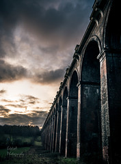 Moody Viaduct (ed027) Tags: ifttt 500px sky train bridge railway beautiful shadow monument history arch mood moody misty weir victorian detail architectural historical arches karlovy vary footbridge deciduous victoria viaduct intersecting fagus sylvatica ricketts glen state park ystradfellte river bank tree lined