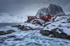 Red Cabins (Raúl Podadera Sanz) Tags: red cabin norway noruega artico artic circlepolarartic sea seascape lanscape mountain clouds tourism tourismnorway