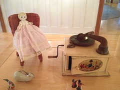 Memories  ... #christmas #vintage #gifts #doll #toy (Mr. Happy Face - Peace :)) Tags: art2017 recorder vinyl doll vintage cans2s canada150 history collectible childtoys christmasspast memories alberatbound canada love family nostalgic play fun friends hss old rabbit soldier art box gift metallic music crank 1880s
