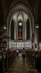 Petri Kirche Hamburg - Altarraum (p.schmal) Tags: panasonicgx80 hamburg petrikirche altarraum adventszeit