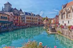 Annecy - Haute-Savoie (gerardcarron) Tags: canon 80d canon80d automne lac paysage lake water eau ville town batiments building annecy hautesavoie landscape autumn