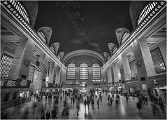 Grand Central Station (beninfreo) Tags: newyork nyc grandcentralstation blackandwhite bw mono monochrome