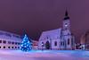 St Mark's Church (dokson_) Tags: croatia zagreb cityscape nightscape winter snow square lights landscape blending travel europe pentax old pentaxk10d advent christmas