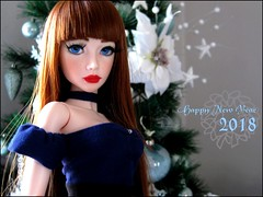 Happy New Year !!! ❤ New doll at home for 2018, welcome Eva-Rose ! :) (Misstica Dolls) Tags: souldoll soulkid girl yeonsoo souldollyeonsoo msd balljointeddolls bjd red hair lips handmade clothes outfit makeup blue eyes happynewyear bonneannée 2018 custom custombjdfaceup christmasbjd christmas corset merrychristmas tree soulkidyeon yeon soo