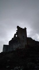 """""""Protect your neck"""", by WTC. (lobotomyzed) Tags: trevejo castle extremadura dracula ruins"""