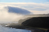 Castle in the clouds. (North Ports) Tags: caithness dunbeath highlands scotland castle bay mist morning fog water sea moray firth